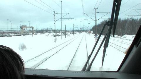 Train travel Stock Video Footage