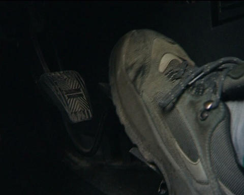 Car pedals Stock Video Footage