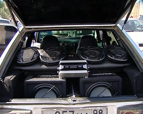 Audio training car Footage