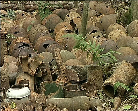 Military Ammunition Stock Video Footage