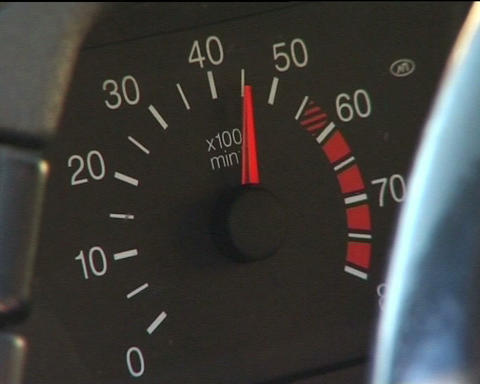 Tachometer Stock Video Footage