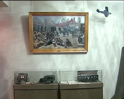 Personal belongings of the dead soldier Footage