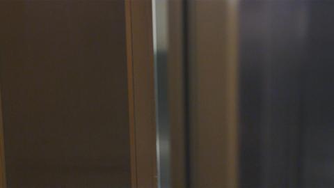 Close-up shot of a safe door shutting Live Action