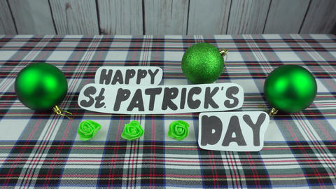 Happy St. Patricks day Footage