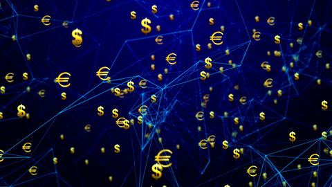 Euro - Dollar Connections Animation