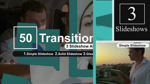50 Transitions Pack -42 After Effects Template