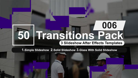 50 Transitions Pack -6 After Effects Template