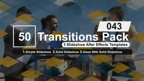 50 Transitions Pack -43 After Effects Template