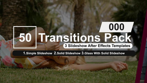 50 Transitions Pack -0 After Effects Template