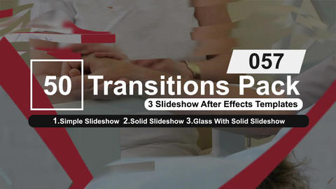 50 Transitions Pack -57 After Effects Template