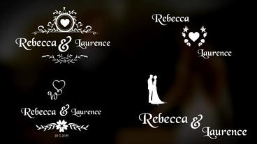 WeddingTitle (Golden And Normal) Motion Graphics Template