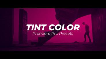 Tint Color Premiere Pro Preset