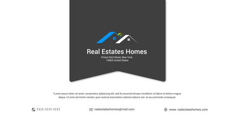 Real Estates Property After Effects Template