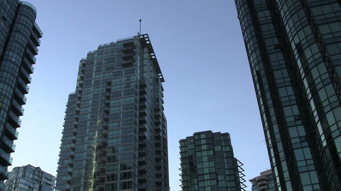 Vancouver British Columbia skyline Live Action
