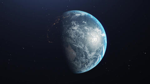 Real earth CG動画素材