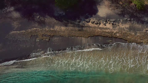 Stunning views of Playa Ocotal in Guanacaste, Costa Rica Live Action