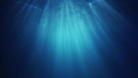 Underwater Sunlight beams from above GIF