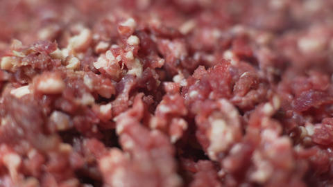 Minced Beef Stock Video Footage