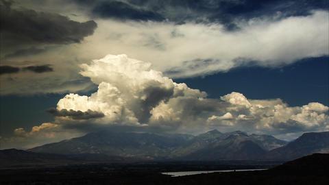 Time-lapse shot of Utah Valley Footage