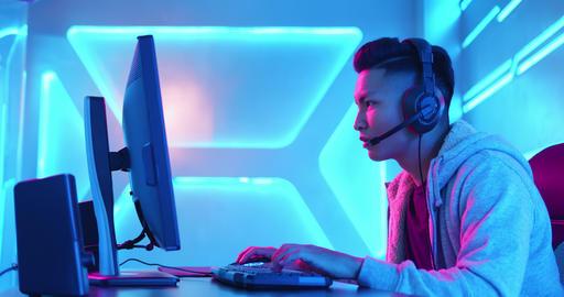 cyber sport gamer win game ビデオ