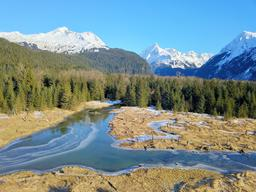 Perfect scene of Alaska フォト