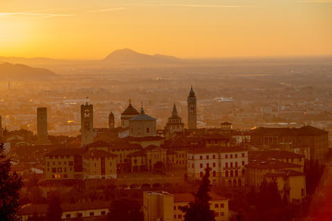 bergamo at dawn Fotografía
