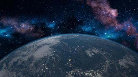 Earth high angle B Animation