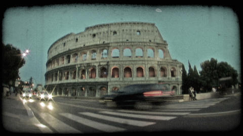 Colosseum 12. Vintage stylized video clip Live Action