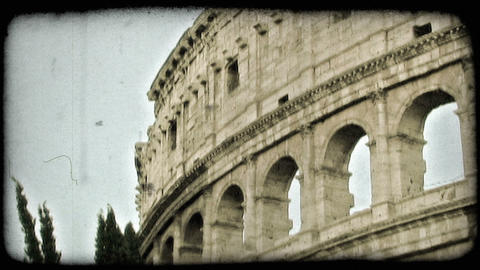 Colosseum 17. Vintage stylized video clip Live Action