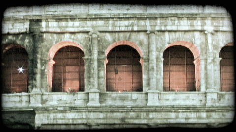 Colosseum 19. Vintage stylized video clip Live Action