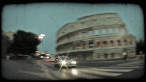Colosseum 20. Vintage stylized video clip Live Action