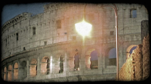 Colosseum 28. Vintage stylized video clip Live Action