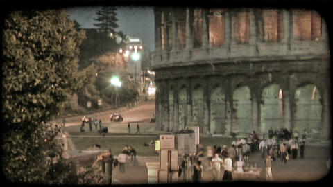 Colosseum 30. Vintage stylized video clip Live Action