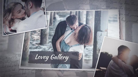 Lovely gallery Premiere Pro Template