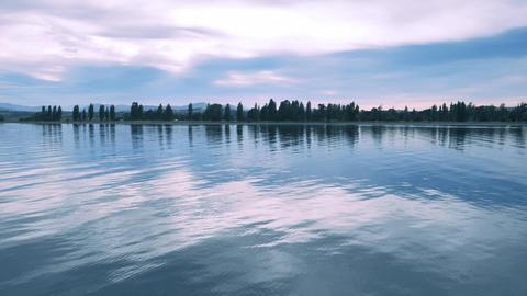 Lake Te Anau, New Zealand Footage