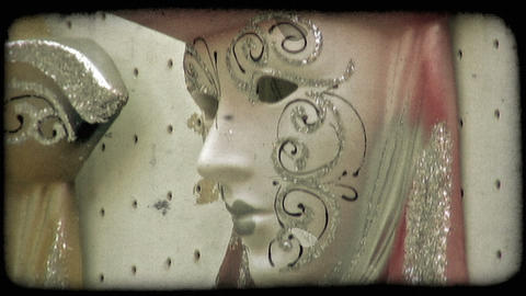 Italian Masks 3. Vintage stylized video clip Live Action