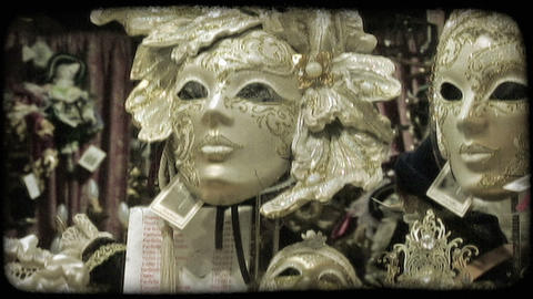 Italian Masks 5. Vintage stylized video clip Live Action