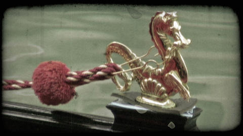 Gondola Gold Dragon 1. Vintage stylized video clip Live Action