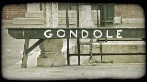 Gondola Sign 1. Vintage stylized video clip Live Action