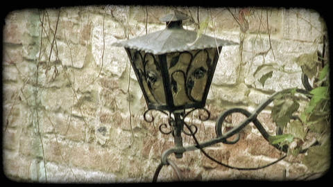 Lantern. Vintage stylized video clip Stock Video Footage