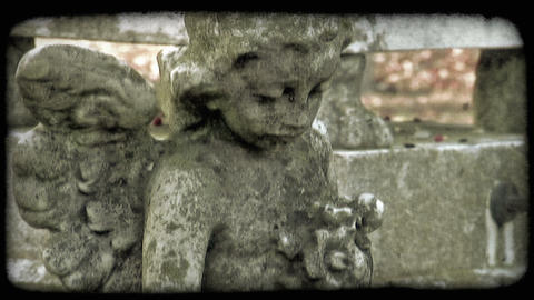 Italian Cemetery 10. Vintage stylized video clip Live Action