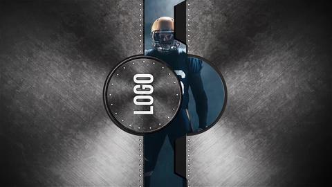 Secret Door Logo After Effectsテンプレート