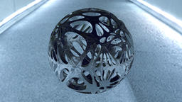 3D Abstract Sphere Modelo 3D