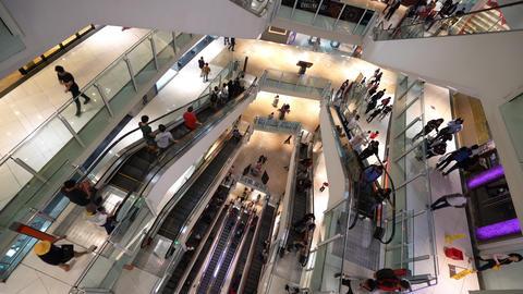 Suria Shopping Mall in Kuala Lumpur Footage