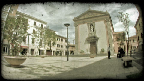 Italian Plaza TL 2. Vintage stylized video clip Live Action