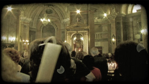 Italian Worship 7. Vintage stylized video clip Live Action
