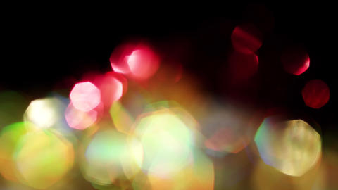 Abstract mix of colors, natural light leaks, shimmering bokeh, iridescent colors Footage
