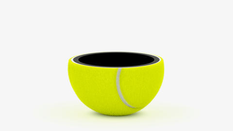 Tennis ball Animation