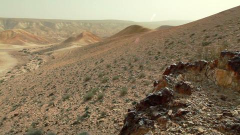 Stock Footage of desert hillsides in Israel Footage