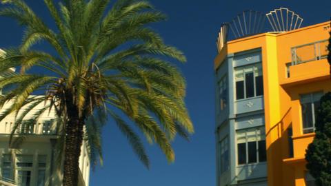 Royalty Free Stock Video Footage of Bialik Square in Tel Aviv shot in Israel at  Footage